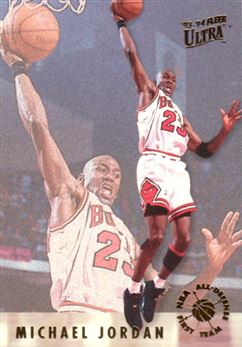 1993-94 Ultra All-Defensive #2 Michael Jordan