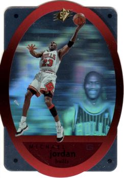1996 SPx #8 Michael Jordan