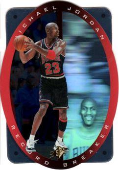 1996 SPx #R1 Michael Jordan/Record Breaker