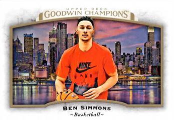 2017 Upper Deck Goodwin Champions #76 Ben Simmons