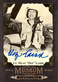 2017 Upper Deck Goodwin Champions Museum Collection World War II Signatures #MCSDL Dean