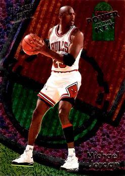 1993-94 Ultra Power In The Key #2 Michael Jordan