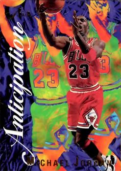 1995-96 Flair Anticipation #2 Michael Jordan