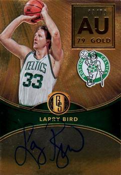 2016-17 Panini Gold Standard AU Autographs #78 Larry Bird