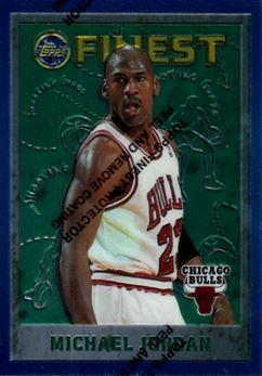 1995-96 Finest #229 Michael Jordan
