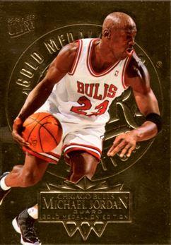1995-96 Ultra Gold Medallion #25 Michael Jordan