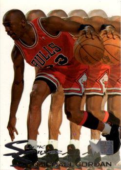 1995-96 Metal Slick Silver #3 Michael Jordan