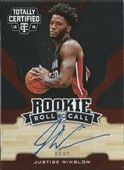 2015-16 Totally Certified Rookie Roll Call Autographs