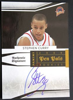 2009-10 Playoff National Treasures Pen Pals #5 Stephen Curry