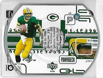 1999 Upper Deck PowerDeck #PD05 Brett FAVRE (packers) $6.00