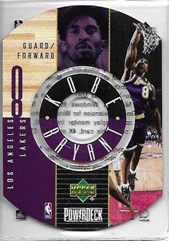1998-99 Upper Deck Encore PowerDeck #2 Kobe BRYANT (lakers) $20.00