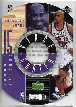 1998-99 Upper Deck Encore PowerDeck #3 Vince CARTER (raptors) $15.00