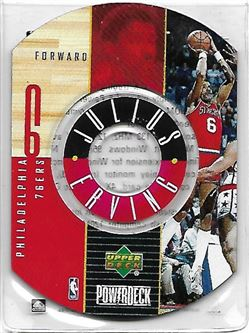 1998-99 Upper Deck Encore PowerDeck #4 Julius ERVING (76ers) $10.00