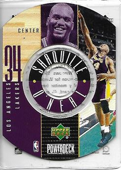 1998-99 Upper Deck Encore PowerDeck #7 Shaquille O'NEAL (lakers) $10.00