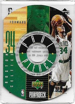 1998-99 Upper Deck Encore PowerDeck #8 Paul PIERCE (celtics) $10.00