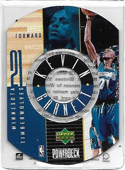 1998-99 Upper Deck Encore PowerDeck #5 Kevin GARNETT (wolves)