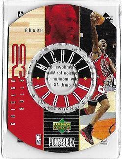 1998-99 Upper Deck Encore PowerDeck #6 Michael JORDAN (bulls) $30.00