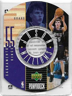1998-99 Upper Deck Encore PowerDeck #9 Jason WILLIAMS (kings)