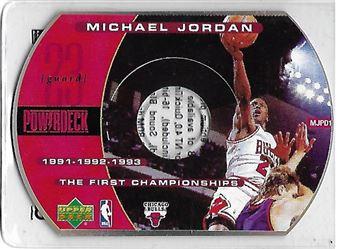 1999-00 Upper Deck PowerDeck #MJPD1 Michael JORDAN (bulls)