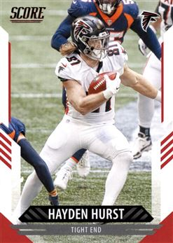 2021 Score #193 Hayden HURST (falcons) $0.30
