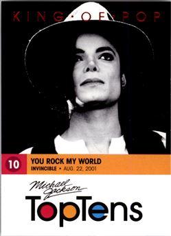 2011 Michael Jackson #177 You Rock My World T10 $0.40