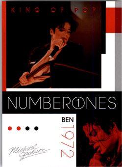 2011 Michael Jackson #178 Ben NO1 $0.75