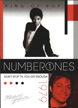 2011 Michael Jackson #179 Don't Stop 'Til You Get Enough NO1 $0.75