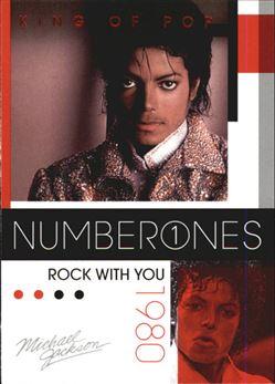 2011 Michael Jackson #180 Rock With You NO1 $0.75
