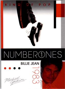 2011 Michael Jackson #181 Billie Jean NO1 $0.75