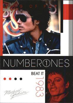 2011 Michael Jackson #182 Beat It NO1 $0.75