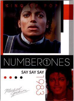 2011 Michael Jackson #183 Say Say Say NO1 $0.75