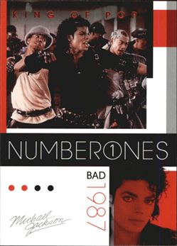 2011 Michael Jackson #185 Bad NO1 $0.75