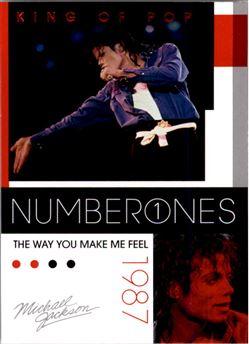 2011 Michael Jackson #186 The Way You Make Me Feel NO1 $0.75