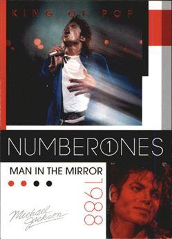 2011 Michael Jackson #187 Man In the Mirror NO1 $0.75