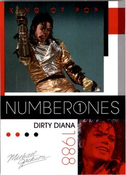 2011 Michael Jackson #188 Dirty Diana NO1 $0.75