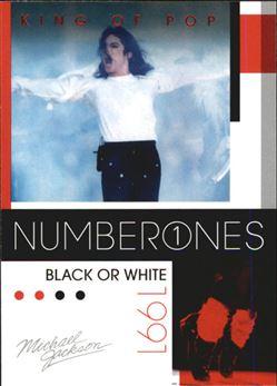 2011 Michael Jackson #189 Black or White NO1 $0.75
