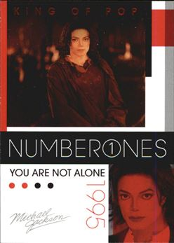 2011 Michael Jackson #190 You Are Not Alone NO1 $0.75