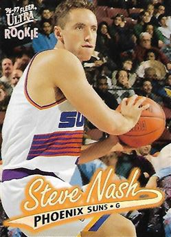 1996-97 Ultra #87 Steve NASH (suns) Rookie Card $15.00