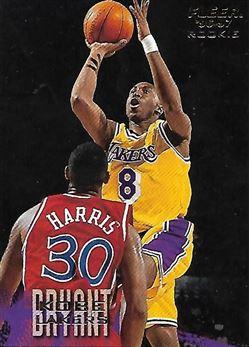 1996-97 Fleer European #233 Kobe BRYANT (lakers) $100.00