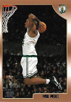 1998-99 Topps #135 Paul PIERCE (celtics) Rookie Card $15.00