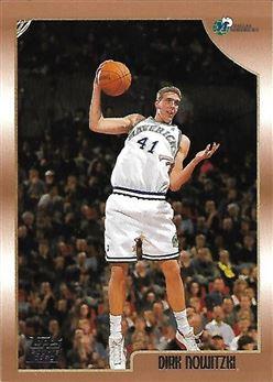 1998-99 Topps #154 Dirk NOWITZKI (mavericks) Rookie Card $30.00