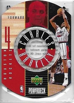 1998-99 Upper Deck Encore PowerDeck #1 Charles BARKLEY (rockets) $12.00