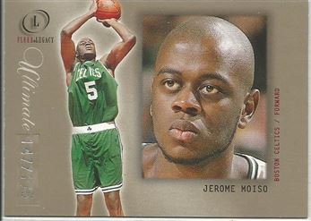 2000-01 Fleer Legacy ultimate Legacy #96 Jerome Moïso
