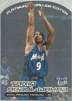 1999-00 Ultra Platinum Medallion #24 Tariq Abdul-Wahad