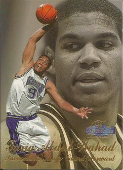 1997-98 Flair Showcase Row 3 #41 Tariq Abdul-Wahad RC