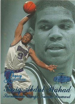 1997-98 Flair Showcase Legacy Collection Row 3 #41 Tariq Abdul-Wahad