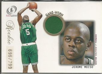 2000-01 Fleer Legacy #96 Jerome Moiso JSY RC