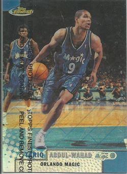 1999-00 Finest Refractors #135 Tariq Abdul-Wahad