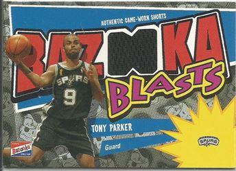 2003-04 Bazooka Blasts #TP Tony Parker D