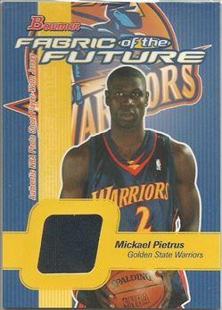 2003-04 Bowman Fabric of the Future #MP Mickael Pietrus